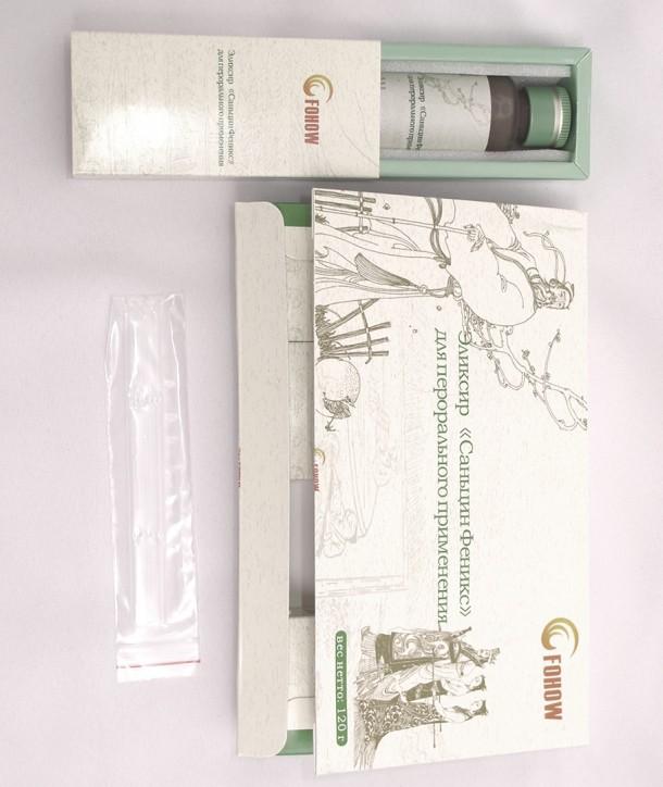 Саньцин эликсир с линчжи и кордицепсом