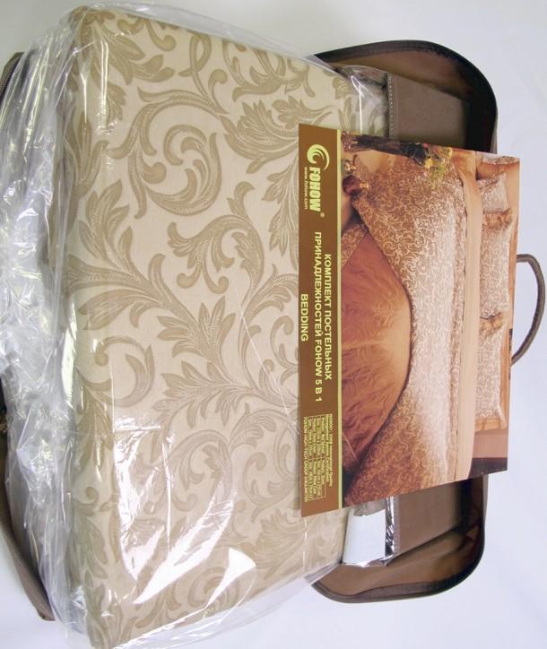 Постельное бельё из ткани с минералами